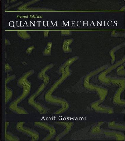 Quantum Mechanics  2nd 1997 edition cover