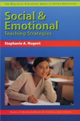 Social and Emotioinal Teaching Strategies   2005 9781593630218 Front Cover