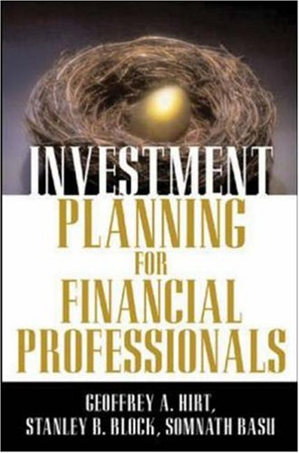 Investment Planning for Financial Professionals   2006 edition cover