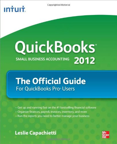 QuickBooks 2012 the Official Guide   2012 edition cover