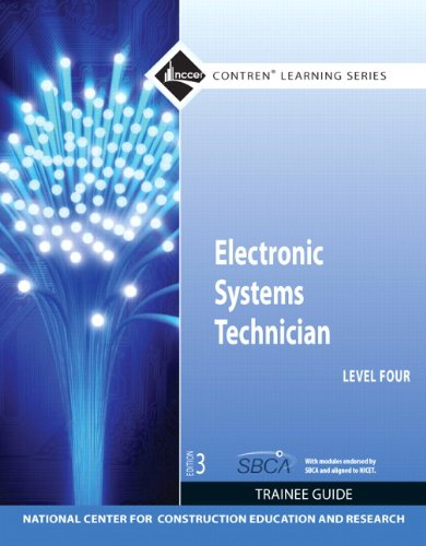 Electronic Systems Technician, Level 4  3rd 2012 (Revised) 9780132578219 Front Cover