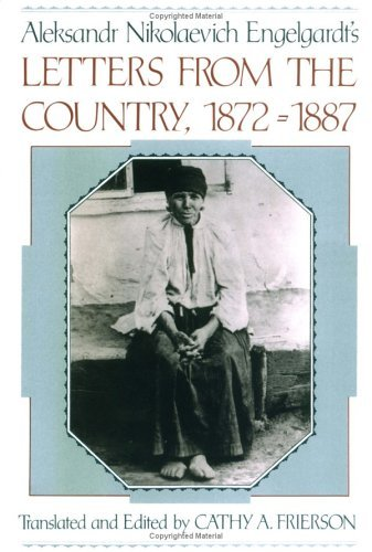 Aleksandr Nikolaevich Engelgardt's Letters from the Country, 1872-1887   1993 edition cover
