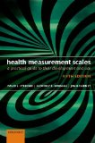 Health Measurement Scales A Practical Guide to Their Development and Use 5th 2014 edition cover