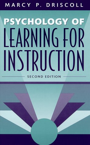 Psychology of Learning for Instruction  2nd 2000 edition cover