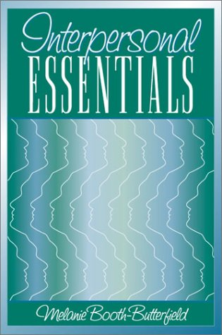 Interpersonal Essentials   2002 edition cover