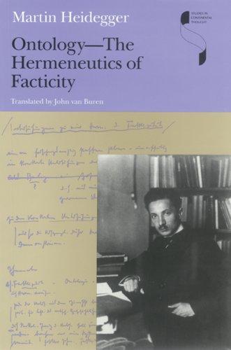 Ontology The Hermeneutics of Facticity  2008 edition cover