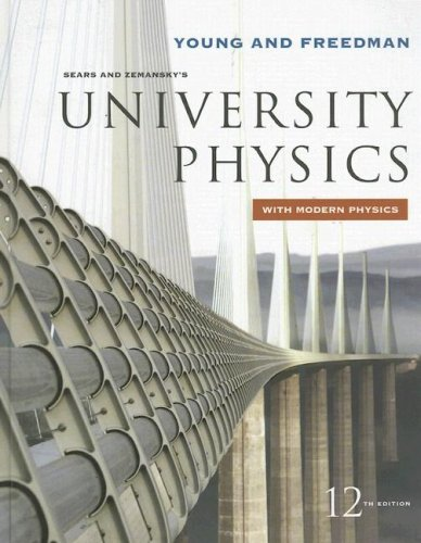 University Physics with Modern Physics  12th 2008 edition cover