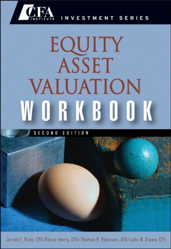 Equity Asset Valuation  2nd 2010 (Workbook) edition cover