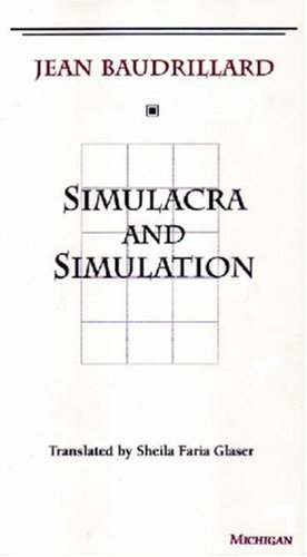 Simulacra and Simulation   1994 edition cover
