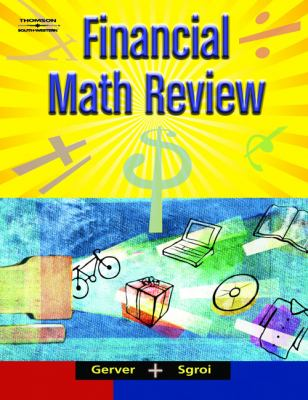 Financial Math Review   2005 9780538440219 Front Cover