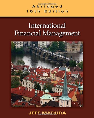 International Financial Management, Abridged Edition  10th 2011 edition cover