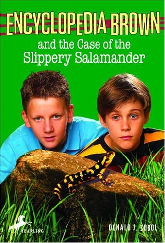 Encyclopedia Brown and the Case of the Slippery Salamander   2001 9780553485219 Front Cover