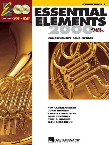 Essential Elements for Band F Horn  2004 edition cover