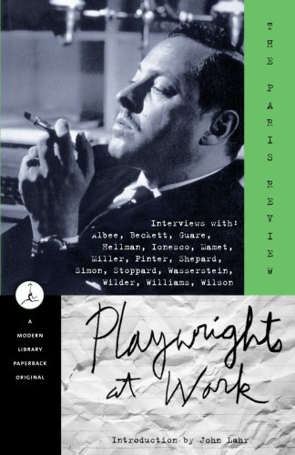 Playwrights at Work   2000 edition cover