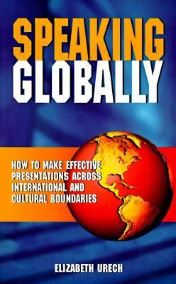 Speaking Globally -Op/72   1997 9780749422219 Front Cover