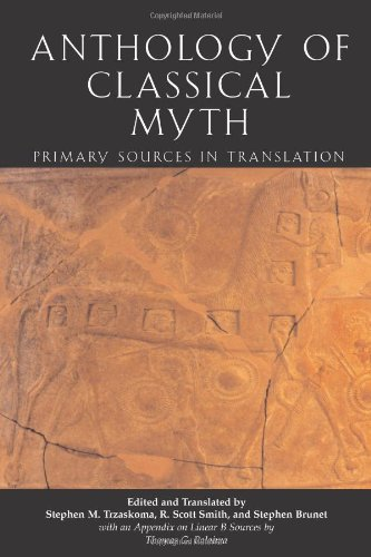 Anthology of Classical Myth Primary Sources in Translation  2004 9780872207219 Front Cover