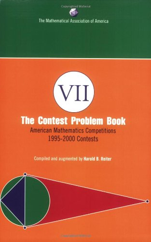 Contest Problem Book VII American Mathematics Competitions, 1995-2000 Contests  2006 9780883858219 Front Cover