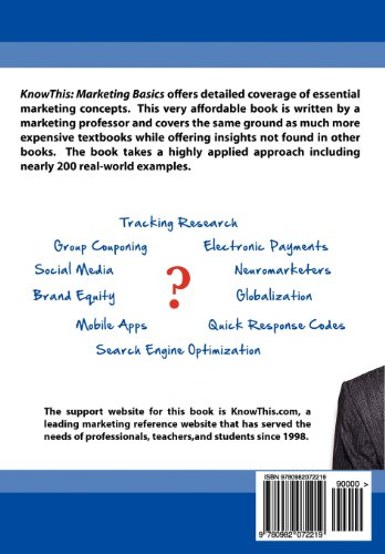 KnowThis Marketing Basics 2nd Ediition  2012 edition cover
