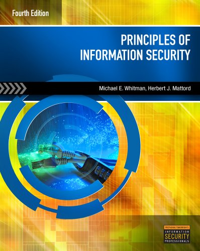 Principles of Information Security  4th 2012 edition cover
