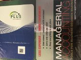 Managerial Accounting Tools for Business Decision Making 6E Binder Ready Version with WileyPlus  N/A edition cover