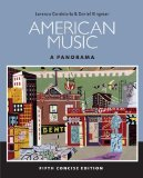 American Music + Digital Music Download Card Music Cd Printed Access Card: A Panorama 5th 2014 edition cover