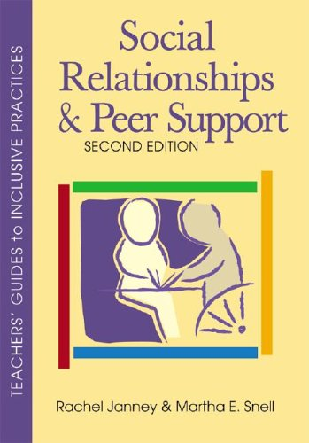 Social Relationships and Peer Support, Second Edition  2nd 2006 edition cover