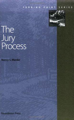 Civil Procedure Jury Process  2004 edition cover