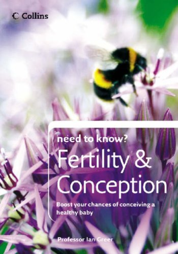 Need to Know: Fertility and Conception N/A 9780007236220 Front Cover