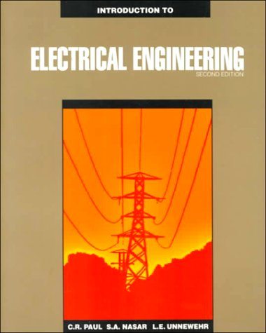 Introduction to Electrical Engineering  2nd 1992 edition cover