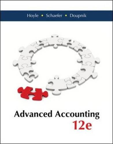 Advanced Accounting  12th 2015 9780077862220 Front Cover