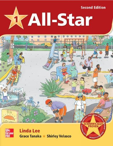 All Star Level 1 Student Book and Workbook Pack  2nd (Revised) 9780078005220 Front Cover