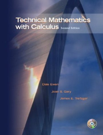 Technical Mathematics with Calculus  2nd 2005 edition cover
