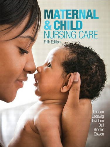 Maternal & Child Nursing Care:   2016 9780134167220 Front Cover