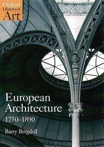 European Architecture 1750-1890   2000 9780192842220 Front Cover