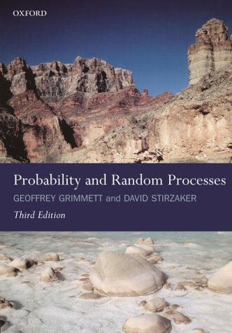 Probability and Random Processes  3rd 2001 (Revised) edition cover