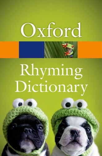 New Oxford Rhyming Dictionary  2nd 2013 edition cover