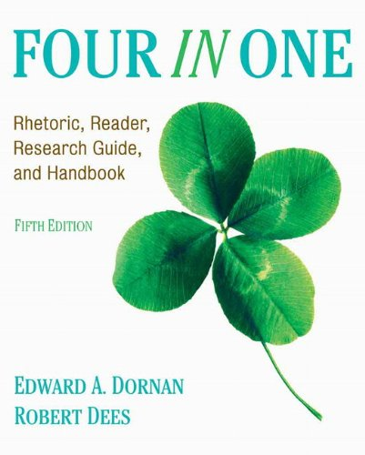 Four in One Rhetoric, Reader, Research Guide, and Handbook 5th 2011 edition cover