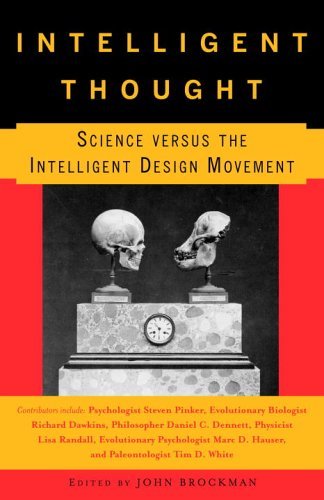 Intelligent Thought Science Versus the Intelligent Design Movement  2006 edition cover