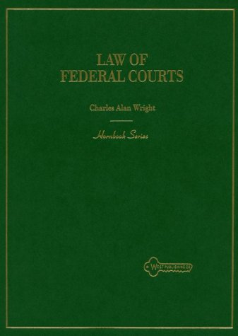 Hornbook on Federal Courts 5th 1994 9780314040220 Front Cover