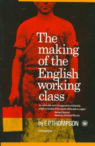 Making of the English Working Class   1966 edition cover