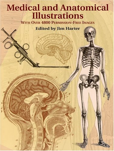 Medical and Anatomical Illustrations With over 4800 Permission-Free Images  2004 edition cover