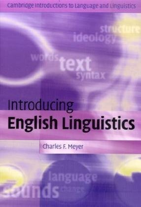 Introducing English Linguistics   2009 edition cover