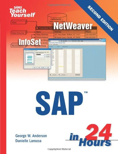 SAP in 24 Hours  2nd 2006 (Revised) edition cover