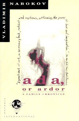 Ada, or Ardor A Family Chronicle N/A edition cover