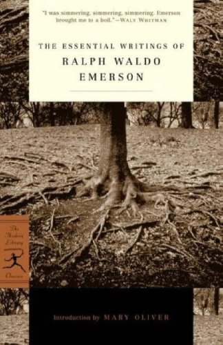Essential Writings of Ralph Waldo Emerson   2000 (Annual) edition cover