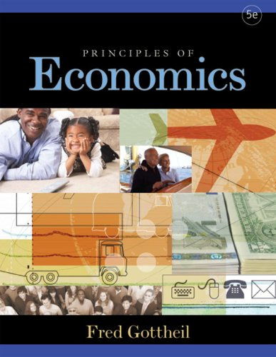 Principles of Economics  5th 2008 9780759395220 Front Cover