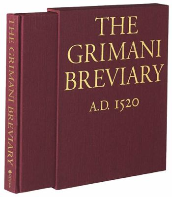 Grimani Breviary  N/A 9780879510220 Front Cover