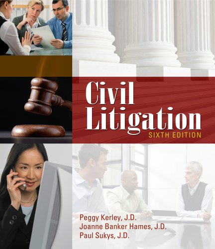 Civil Litigation  6th 2012 edition cover