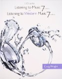 2 CD Set for Wright's Listening to Music, 7th and Listening to Western Music, 7th  7th 2014 edition cover