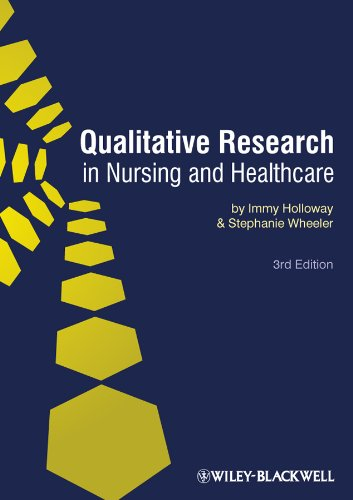 Qualitative Research in Nursing and Healthcare  3rd 2010 9781405161220 Front Cover